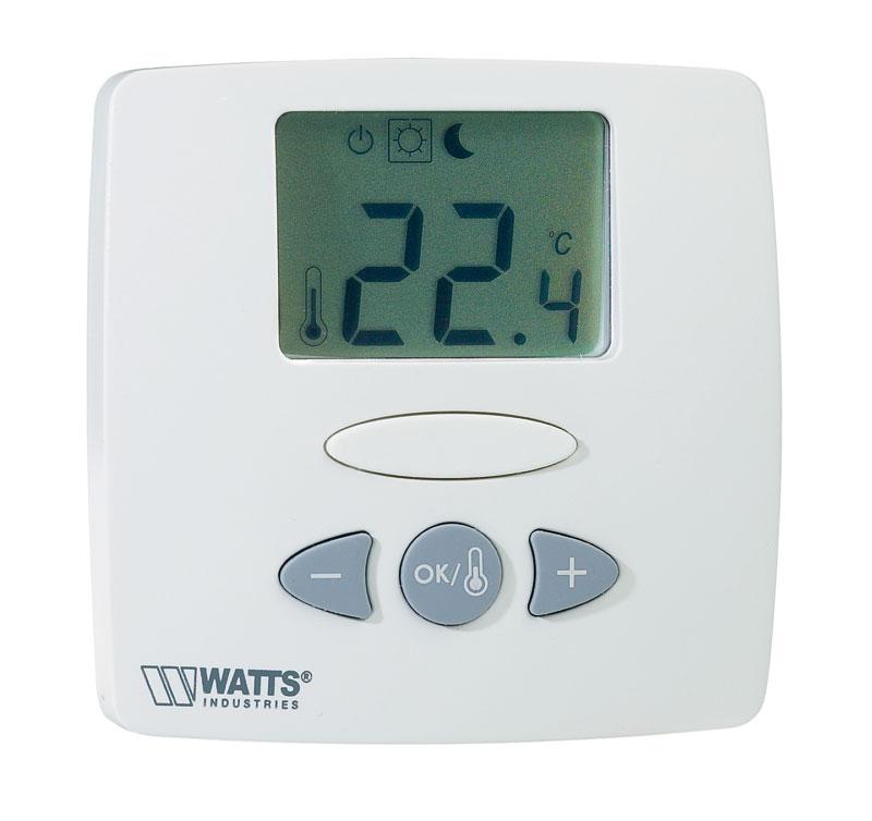 watts industries thermostaat verwarming van het huis met brandhout. Black Bedroom Furniture Sets. Home Design Ideas